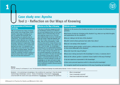 Case study 1: Ayesha | Coercive Control