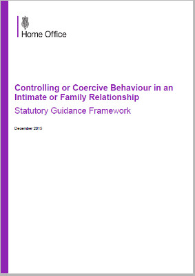 controlling or coercive behaviour - statutory guidance