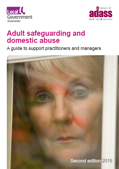 LGA and ADASS: Adult safeguarding and domestic abuse, a guide to support practitioners and managers